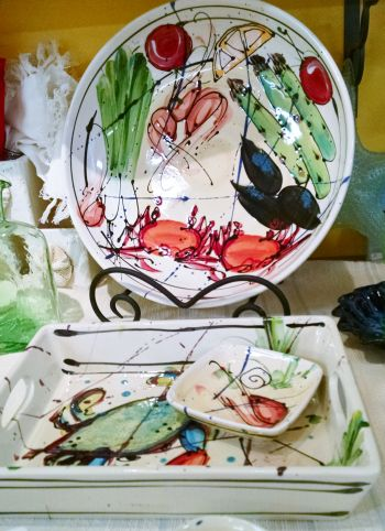 Spry Creek in Corolla NC, Art for the Table by Donna Toohey