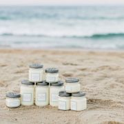 The Vintage Canning Collection is an assortment of vintage-inspired candles made with 100% all natural and uncolored soy wax (good for the environment and the senses!)