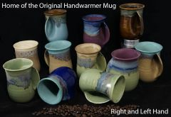 Hand warmer mugs made in the USA.
